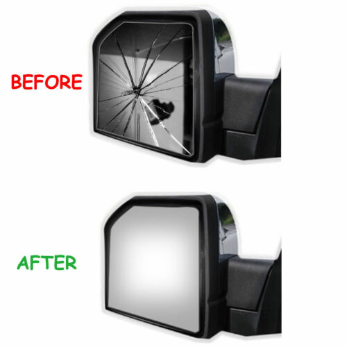 Lower Towing Mirror Glass+Adhesive for 04-14 Ford F-150 F150 Driver Left Side LH