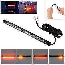 Flexible CAR 32 LED Motorcycle Light Strip Tail Brake Stop Turn Signal Lampadine