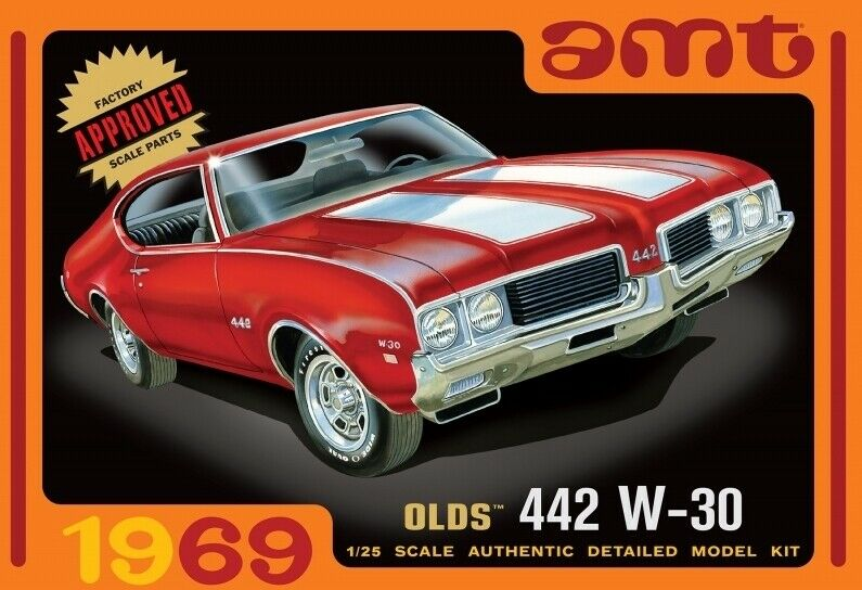 AMT 1 25 1969 Olds 442 W-30