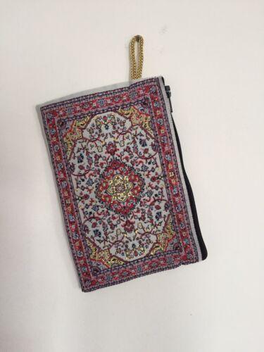 Turkish Carpet Tapis Design Authentique Sac à Main à Fermeture éclair Portefeuille Sac à main