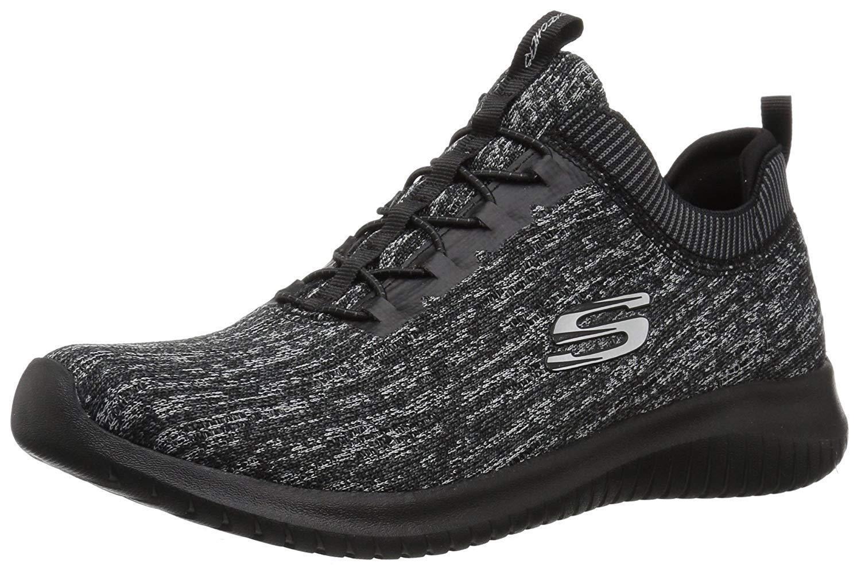 Skechers Ultra Flex Bright Horizon - DaSie Trainingsschuhe - Schwarz Grau