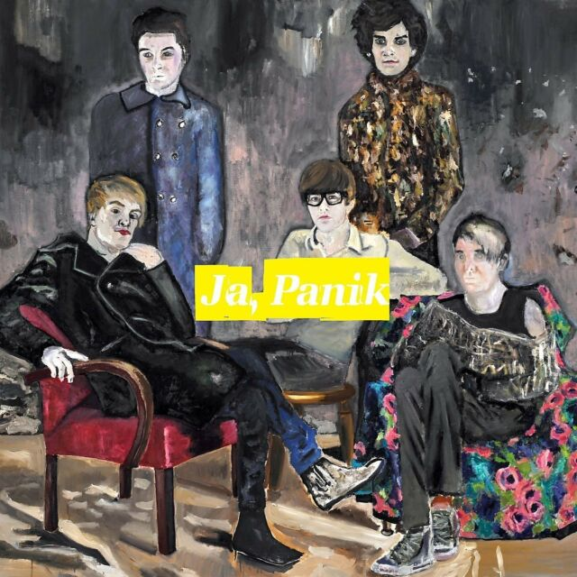 JA, PANIK - THE ANGST AND THE MONEY   CD NEU
