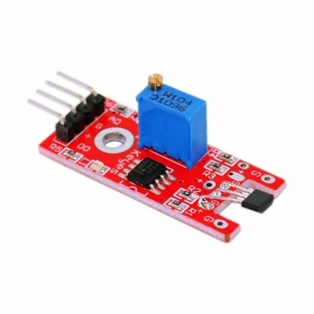 1PCS Hall Magnetic Standard Linear Module For Arduino AVR PIC Good New