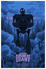 Kilian Eng Iron Giant Variant Private Commission Movie Print Poster Not Durieux