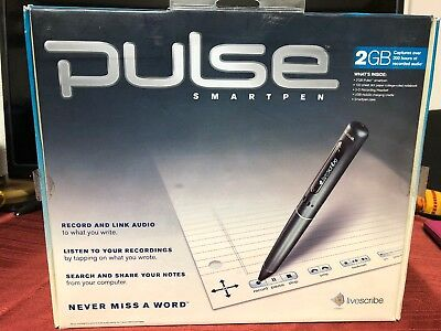 Cooperative Pulse Digital Smartpen Livescribe 2g Usb Mac/windows Compatible Sophisticated Technologies Computers/tablets & Networking