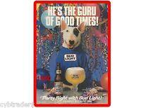 1980 Bud Light Beer Ad Spuds Mckenzie Refrigerator / Tool Box Magnet Man Cave