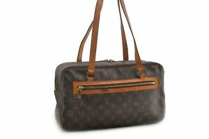 Authentic-Louis-Vuitton-Monogram-Cite-GM-Shoulder-Bag-M51181-93065