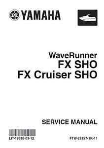 yamaha waverunner pwc 2008 2009 2010 2011 fx sho fx cruiser sho rh ebay com 2008 yamaha fx ho owner's manual 2008 yamaha fx ho owner's manual