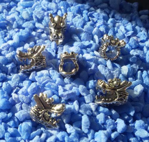5//10//15 Dragon Beads großloch Perles Paracord Bracelet großloch Perles t11