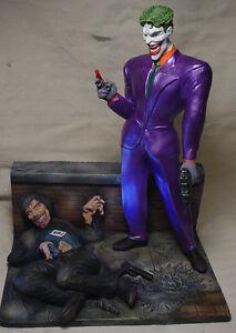joker diorama statue smile toxin victim w professional. Black Bedroom Furniture Sets. Home Design Ideas