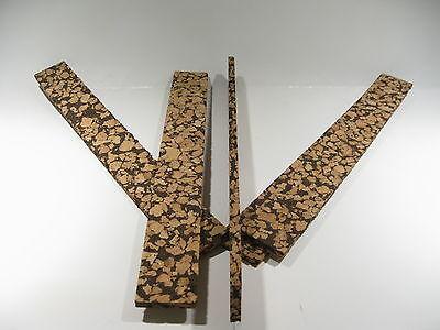 "CORK BLOCKS BROWN BURL 12/"" X 1 1//2/"" X 1//4/"" LOT OF 4"