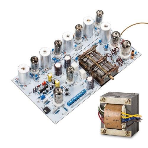 Vintage Vacuum Tube FM Radio Valve Stereo Audio Receiver Assembled Board DIY Kit
