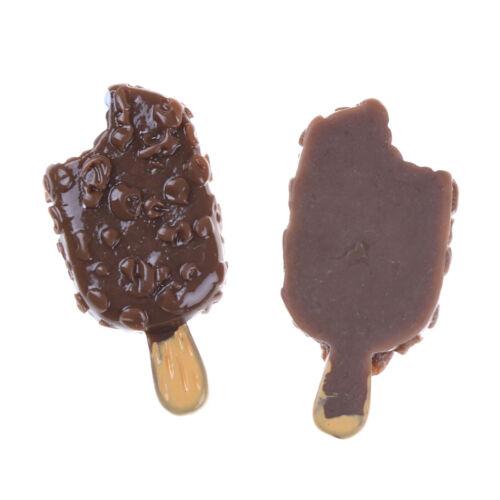5PCS Miniature Mini Dollhouse Chocolatesicle Food Models Home Kitchen LA