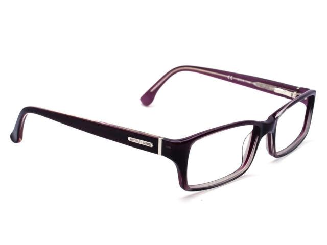 7f76d648c79d Michael Kors Eyeglasses MK230 517 Gradient Plum Rectangular Frame 52[]16 135
