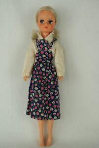 Otto-Simon-FLEUR-blonde-doll-in-blue-Basic-outfit-1000-Dutch-Sindy-70-039-s