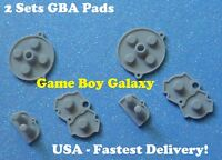 2 Sets Conductive Rubber Pads Complete Nintendo Game Boy Advance Start Button