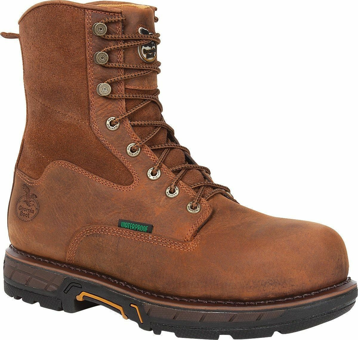 MENS GEORGIA COMPOSITE TOE WORK BOOT STYLE GBOT019