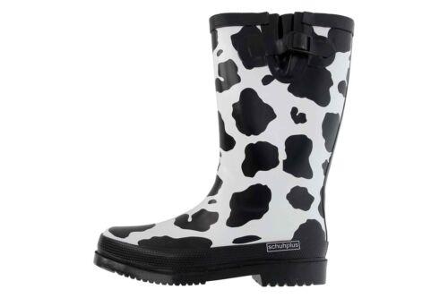 Zapato plus botas de goma en talla extragrande multicolor vaca grandes zapatos señora