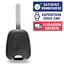 KIT-Reparation-Plip-Coque-Cle-pour-Telecommande-PEUGEOT-206-106-306-307-107-207 miniature 5