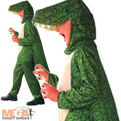 Costume Dinosauro Ragazzi Ragazze Bambini Bambino Animali Libro Settimana Costume EtÀ 4-12-mostra Il Titolo Originale Alleviare Il Caldo E Il Colpo Di Sole