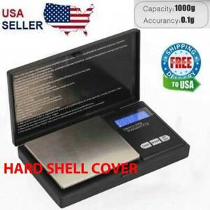 Digital-Scale-1000g-x-0-1g-Jewelry-Pocket-Gram-Gold-Silver-Coin-Precise-NEW