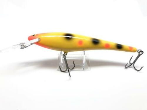 Bagley DB08-YD Musky Fishing Lure New in Box Yellow Dots Color
