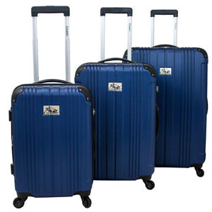 05f946198 Image is loading Chariot-Monet-3-Piece-Hardside-Expandable-Lightweight- Spinner-