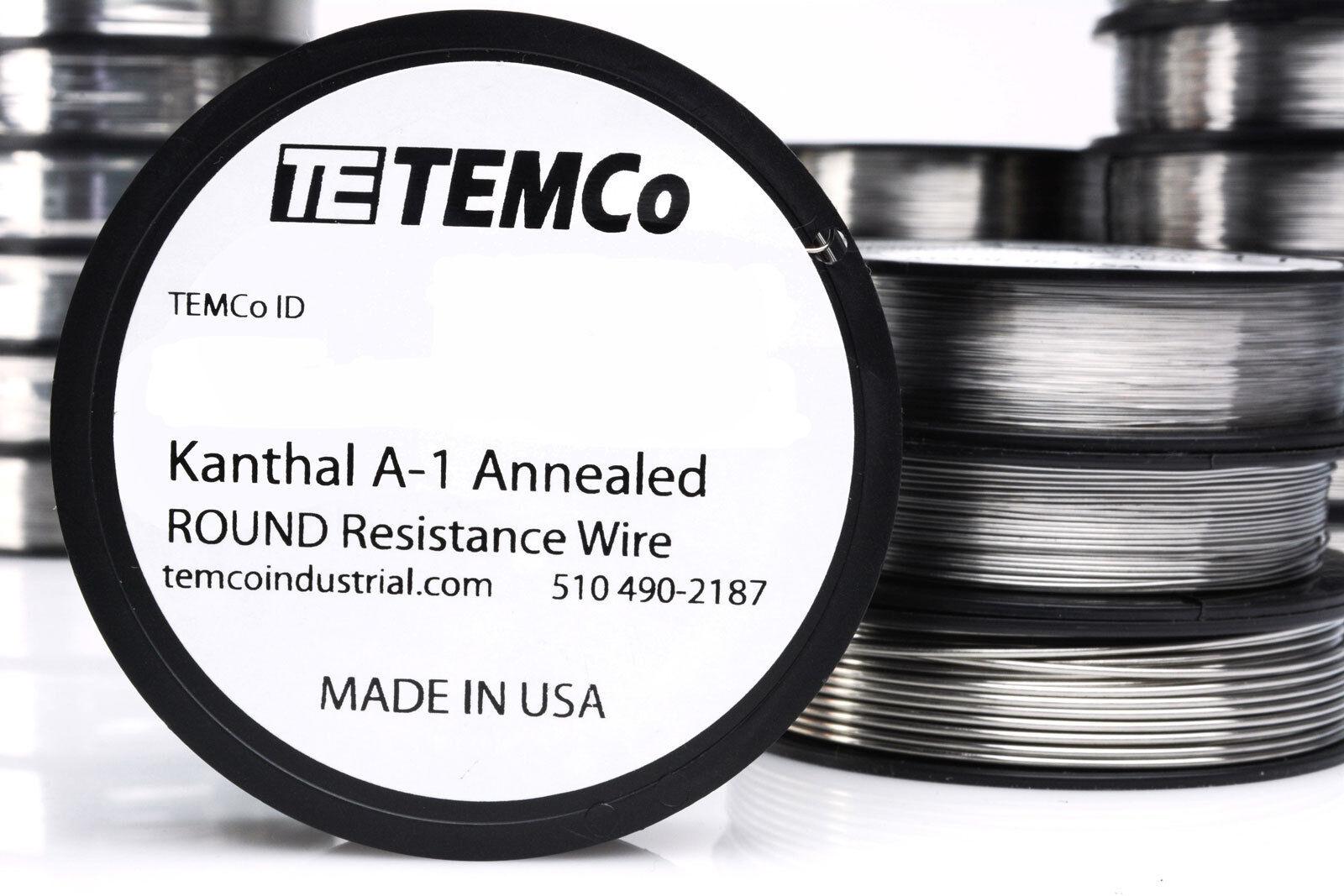 50 m/ètres /Ø 0,16 mm 34 AWG Gauge Kanthal A1 fil de r/ésistance
