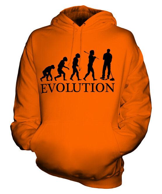 JANITOR / PARK WARDEN EVOLUTION OF MAN UNISEX HOODIE  Herren Damenschuhe LADIES GIFT