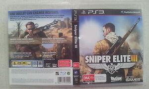 Sniper Elite Iii 3 Ps3 Game 8023171034409 Ebay