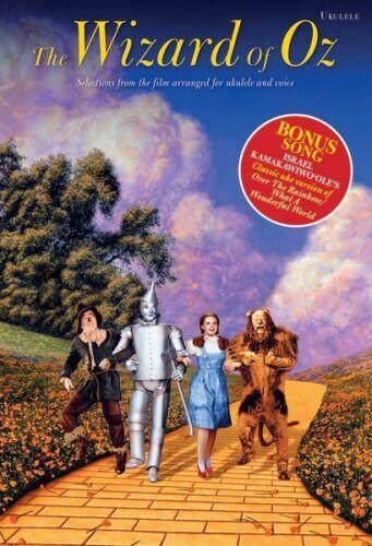 The Wizard of Oz Sheet Music Ukulele Book NEW 014043639
