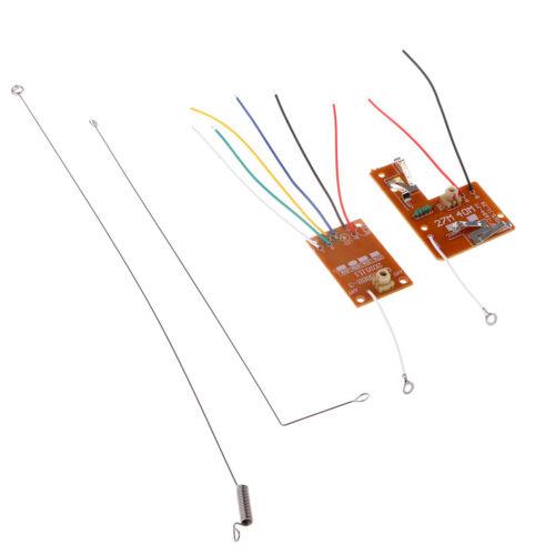 27M 4CH Remote Control Module Receiver Transmitter Board for Mini DIY RC Toy