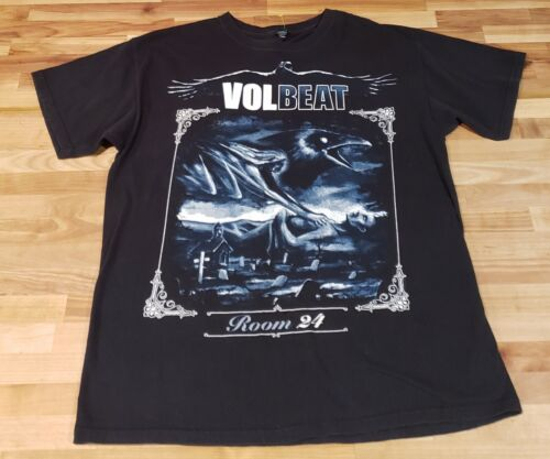 Volbeat Room 24 US 2014 Tour T-Shirt  Sz Large