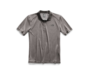0336397b9 Details about $45 New - The North Face Men's Short Sleeve Horizon Polo -  Gray - Various Sizes