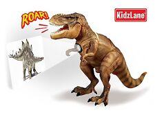 Kidzlane Dinosaur Toy T-Rex Room Guard with Motion Sensor