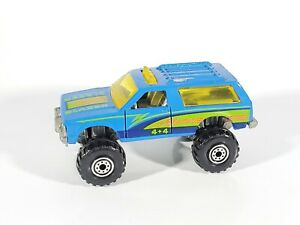 Hot-Wheels-Early-Blue-Cards-6-Blue-Blazer-4x4-w-CT-Wheels-LOOSE-NM