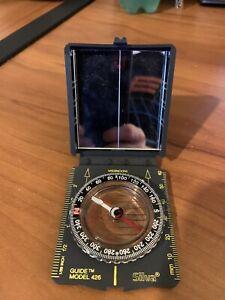 RARE Silva Compass with Mirror * Guide Model 426