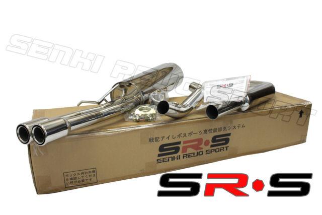 SRS 99 00 01 02  VW JETTA 2.0 T 1.8T CATBACK EXHAUST SYSTEM SR*S T-304VOLKSWAGEN