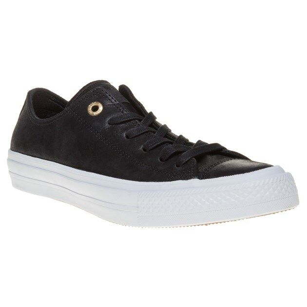 Converse Chuck Taylor All Star II 2 Craft Leather Blac White Women Shoes  555958c UK 4 for sale online  550db6ecb