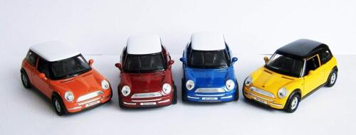 MINI COOPER 11cm Modellauto Metall Modell Auto Spielzeugauto 4 Varianten 33