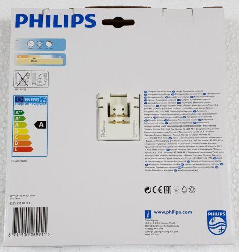 PHILIPS 2D 28W 827 4P 2700K WARM WHITE GR10q 2050 Lumen