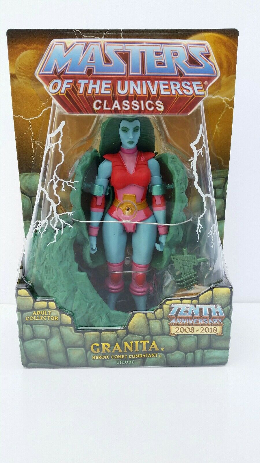 HE-MAN M.O.T.U. Classics Super 7 GRANITA 7  Action Figure - BRAND NEW   MISB