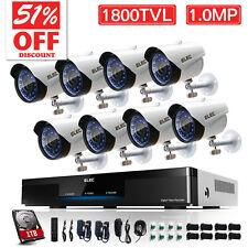 8CH 960H HDMI CCTV DVR Home Outdoor Security Camera System1800TVL Surveillance