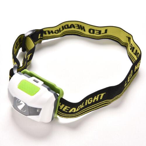 Mini Headlight LED Headlamp Head Torch Hiking Camping Waterproof Ultra Bright NP
