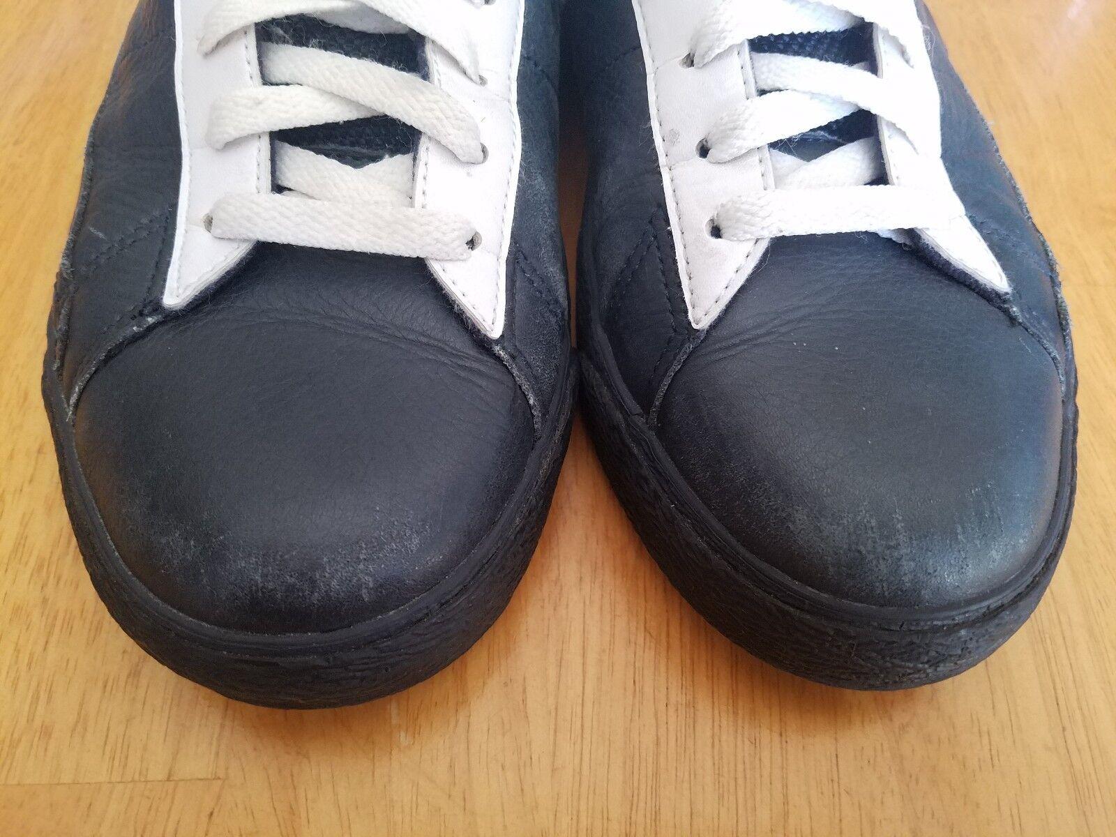 Nike Blazer White Major Taylor Hi Premium Vintage Navy & White Blazer Basketball Shoes 909f59