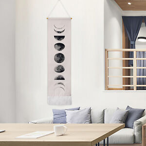 Details About Wall Art Tapestry Moon Phase Lunar Display Hanging Home Decor USA