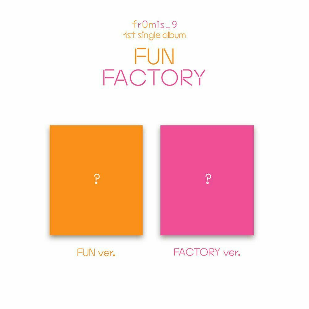 FROMIS_9 FUN FACTORY 1st Single Album 2SET CD+Photobook+Photocard+Etc++Tracking
