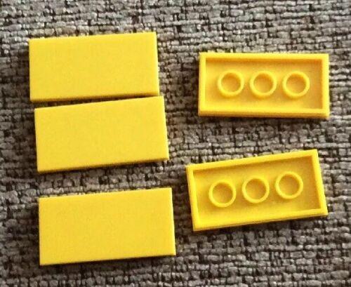 87079 Lego Spares 4560181 Yellow Tile 2x4