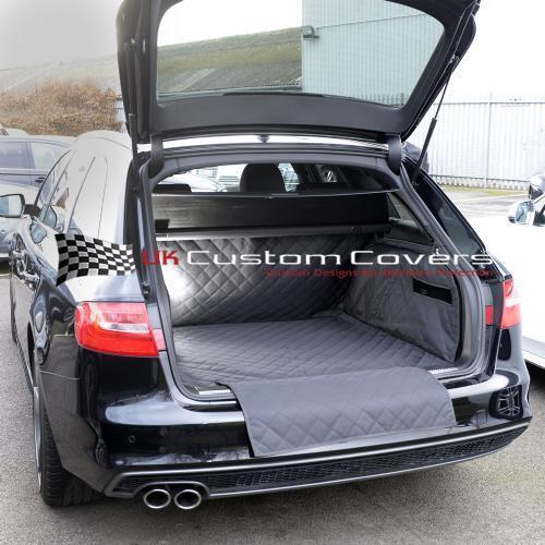Audi A4 Avant Acolchado A Medida Impermeable Arranque Forro Mat Perro Guardia 2008 en 183