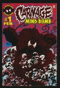 Mind Bomb #1 CGC NM//M 9.8 White Pages Carnage